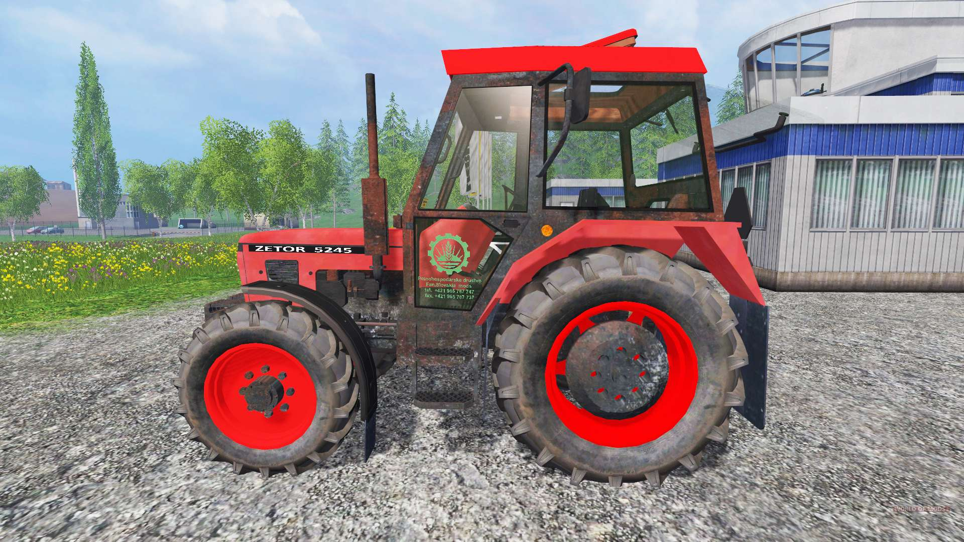Tractor Simulator 2 : Zetor for farming simulator