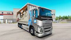 Volvo FH16 tandem for American Truck Simulator