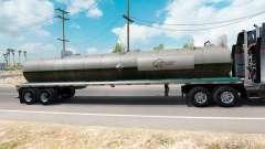 Skin on Quaker State semi-tank for American Truck Simulator