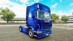 Fantastic Blue skin for Scania truck for Euro Truck Simulator 2