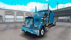 Kenworth W900B Long v1.3 for American Truck Simulator