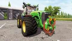 John Deere 8530 v2.2 for Farming Simulator 2017