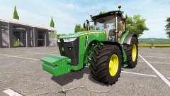 John Deere 8320R v1.2 for Farming Simulator 2017