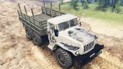 The vehicle Ural-4320 for Spin Tires