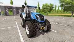 New Holland T7.290 dual wheels for Farming Simulator 2017