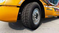 New rims and tires v1.2.1 for American Truck Simulator