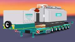 Low sweep with the load transformer Siemens for Euro Truck Simulator 2