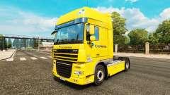 Correios skin for DAF truck for Euro Truck Simulator 2