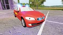 BMW 530d Touring (F11) Feuerwehr for Farming Simulator 2017