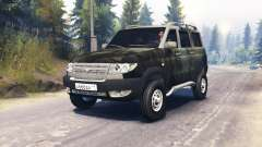 UAZ-3163 Patriot turbo v3.0 for Spin Tires