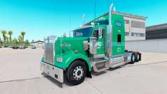 Skin Interstate Dist. Co. on the truck Kenworth W900 for American Truck Simulator