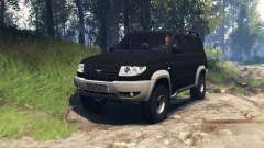 UAZ-3163 Patriot v3.0 for Spin Tires