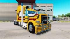 Skin Farmers Oil for the truck Peterbilt 389 for American Truck Simulator