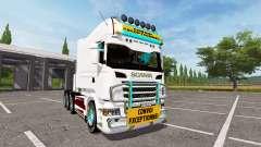 Scania R730 long for Farming Simulator 2017