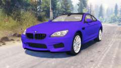 BMW M6 (F13) for Spin Tires