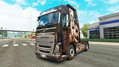 Survival Horror skin for Volvo truck for Euro Truck Simulator 2