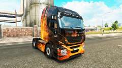 Cubical Flare skin for Iveco tractor unit for Euro Truck Simulator 2