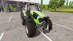 Deutz-Fahr 9290 TTV v1.5 for Farming Simulator 2017