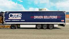 Skin ARR Craib Transport on semi-trailer curtain for Euro Truck Simulator 2