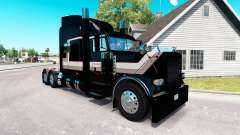 Transport skin for the truck Peterbilt 389 for American Truck Simulator