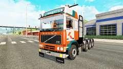 Volvo F10 8x4 heavy for Euro Truck Simulator 2