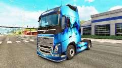 Allfons skin for Volvo truck for Euro Truck Simulator 2