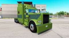 Skin Pea Soup for the truck Peterbilt 389 for American Truck Simulator