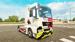 Skin VFB Stuttgart for MAN truck for Euro Truck Simulator 2