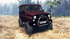 UAZ-315195 hunter turbodiesel for Spin Tires