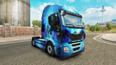 Skin Allfons on the truck Iveco for Euro Truck Simulator 2