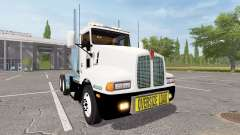 Kenworth T600 oversize load for Farming Simulator 2017