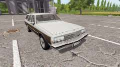 Chevrolet Caprice Estate Wagon 1989 for Farming Simulator 2017