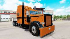 Coppertone skin for the truck Peterbilt 389 for American Truck Simulator