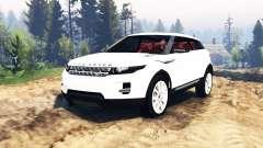 Range Rover Evoque LRX v2.0 for Spin Tires