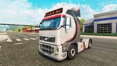 Givar BV skin for Volvo truck for Euro Truck Simulator 2