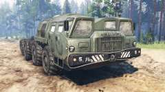 MAZ-7310 for Spin Tires