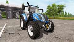 New Holland T5.120 for Farming Simulator 2017