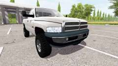 Dodge Ram 2500 cummins turbo diesel for Farming Simulator 2017