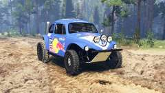 Volkswagen Beetle Baja for Spin Tires