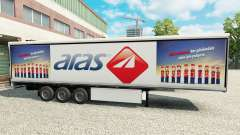 Skin Aras on refrigerated semi-trailer for Euro Truck Simulator 2
