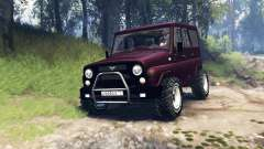 UAZ-315195 hunter turbo v3.0 for Spin Tires