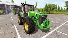 John Deere 8130 v2.1 for Farming Simulator 2017