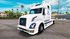 Frio Express skin for Volvo truck VNL 670 for American Truck Simulator