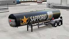 Skin Sapporo for semi-tank for American Truck Simulator
