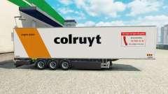 Semi-trailer refrigerator Chereau Colruyt for Euro Truck Simulator 2