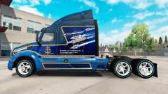 A large collection of rims and tires for American Truck Simulator
