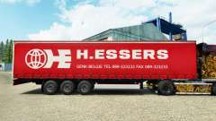H. Essers skin for curtain semi-trailer for Euro Truck Simulator 2