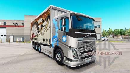Volvo FH16 tandem for American Truck Simulator