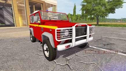 Land Rover Defender 90 VLTT for Farming Simulator 2017