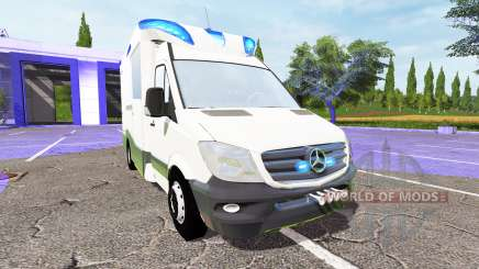 Mercedes-Benz Sprinter BlueTEC (Br.906) for Farming Simulator 2017